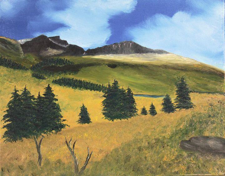 Mt Bierstadt - Richersd Art Studios, LLC