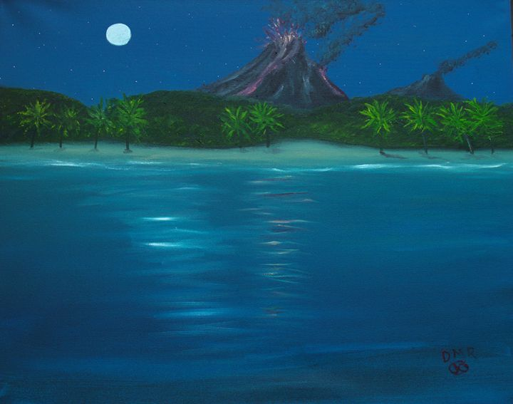 South Seas Fire - Richersd Art Studios, LLC