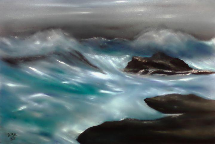 dangerous shores - Richersd Art Studios, LLC