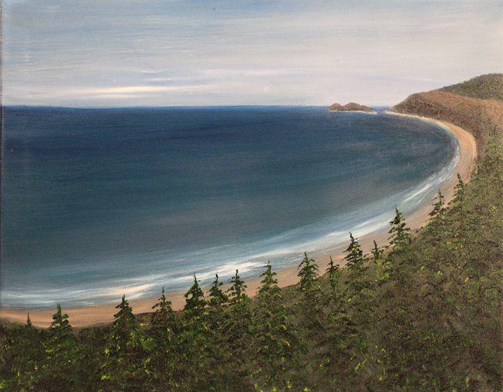 Oregon Coast - Revisited - Richersd Art Studios, LLC