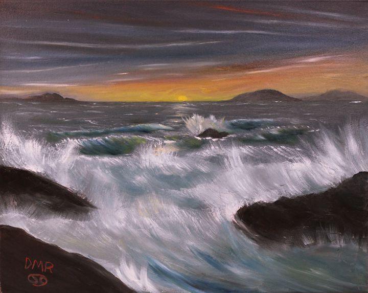 """""""Red skies at morn ..."""" - Richersd Art Studios, LLC"""