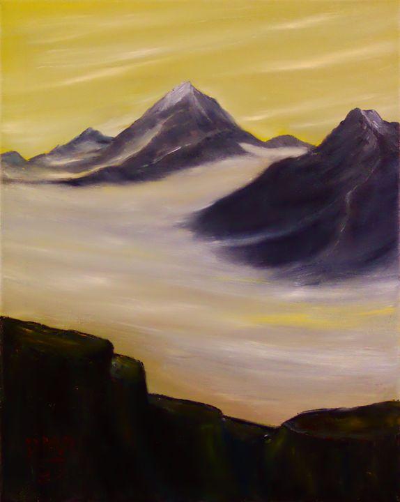 Desert Iselberg - Richersd Art Studios, LLC