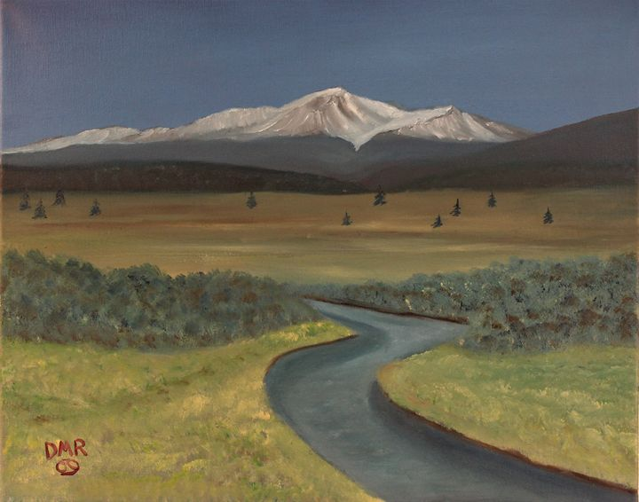 Mt Elbert - Richersd Art Studios, LLC