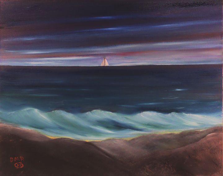 Early Morning Sail - Richersd Art Studios, LLC