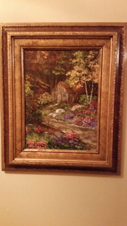 Hidden cabin - Maple art