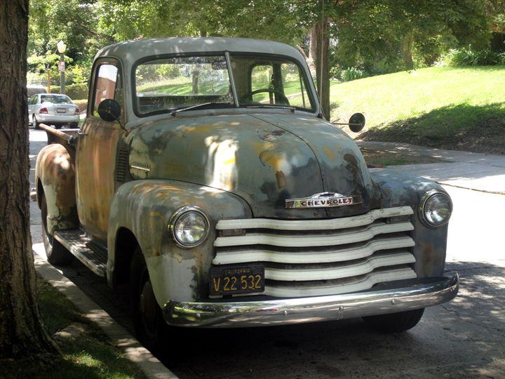 Rusty vintage Chevrolet truck - Sofia Goldberg's Gallery