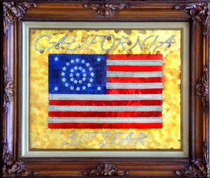 American Flag, 31 stars - California - Sofia Goldberg's Gallery