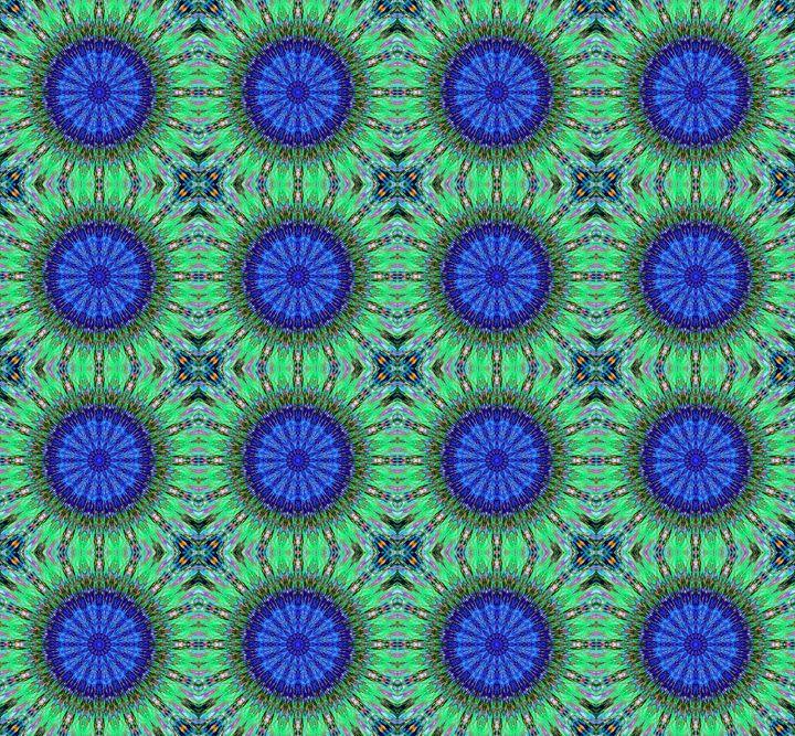 Paisley kaleidoscope. Digital art - Sofia Goldberg's Gallery