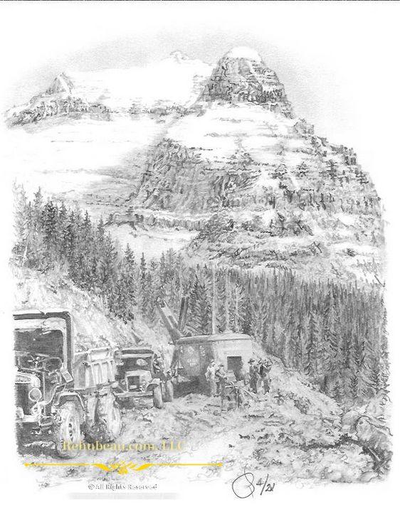 Glacier - Rehnbeau