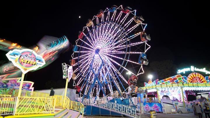 Ferris wheel Lights - Klacey's Photography