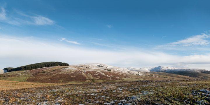 The Ochill Hills in Scotland - Jeremy Lavender Photography