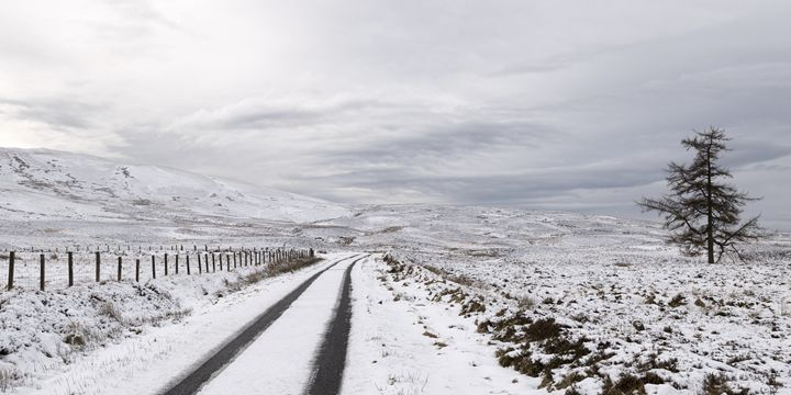 Winter Scenery in Scotland - Jeremy Lavender Photography
