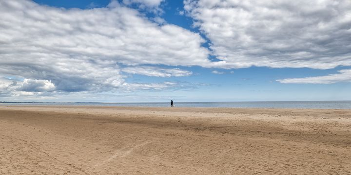 Beach at Tentsmuir Point - Jeremy Lavender Photography