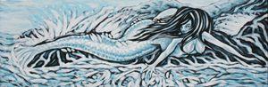 Blue Mermaid - Ian Lee Oliver