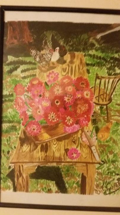 flower garden - shahnaz