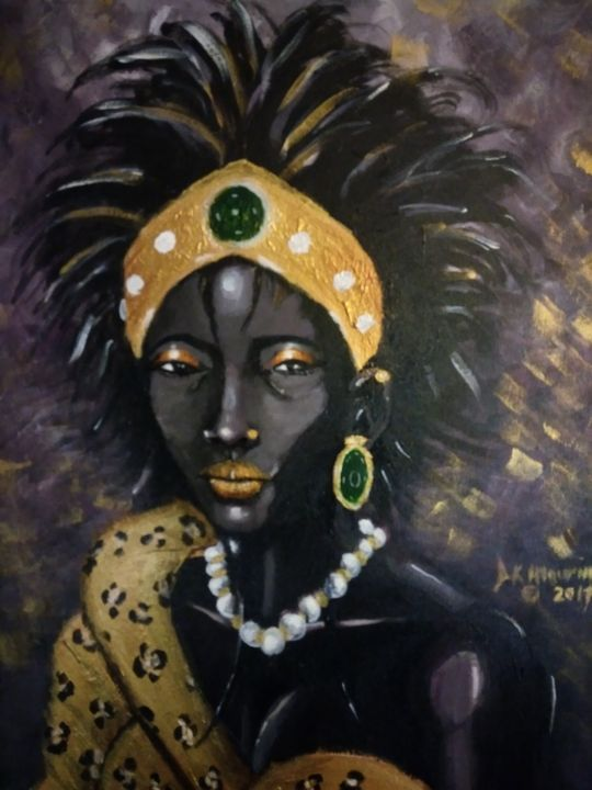 African Princess - D.K. Mouring Creations
