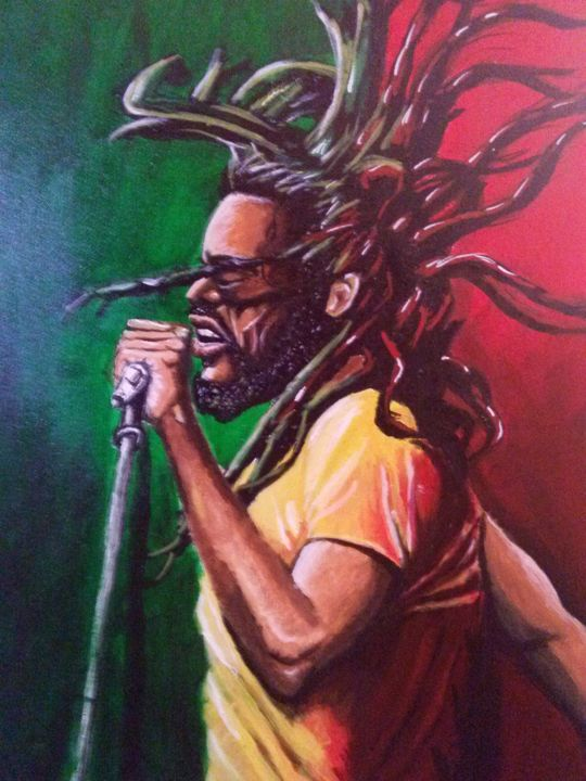 Marley OnThe Mic - D.K. Mouring Creations