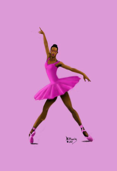 Ebony Bellerina - D.K. Mouring Creations