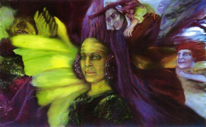 The Green Queen - Cindy Franson