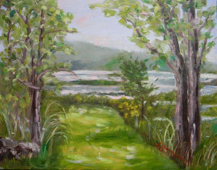 Massabesic Pathway - Garrigan Fine Art