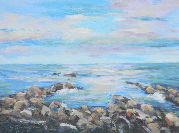 Sunrise at Perkins Cove - Garrigan Fine Art
