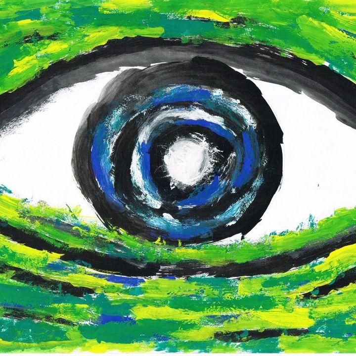 Excited Eye - Joseph Rintar