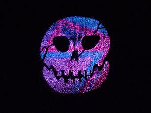 Purple glow Skull