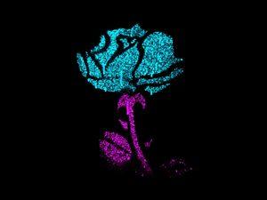 Neon Rose