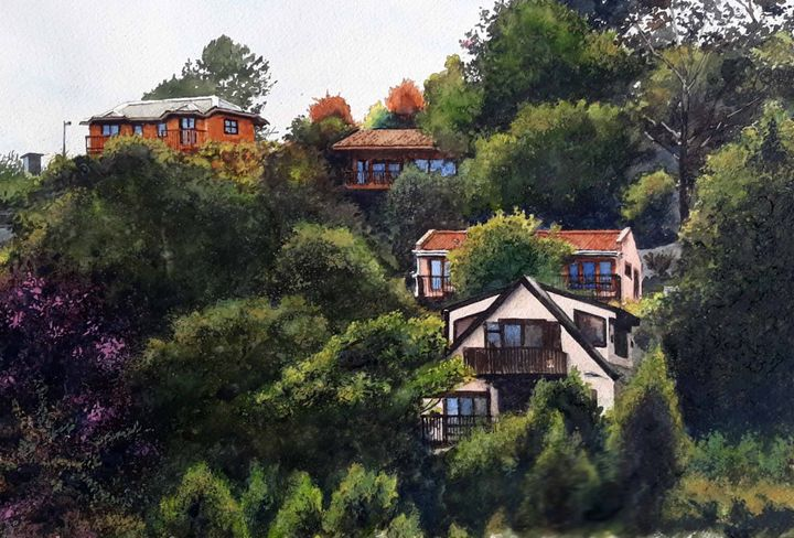 Hilltop Houses - Jonathan Davis