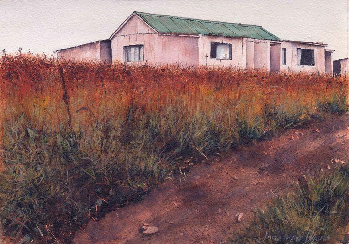 Cottage on the Skyline - Jonathan Davis