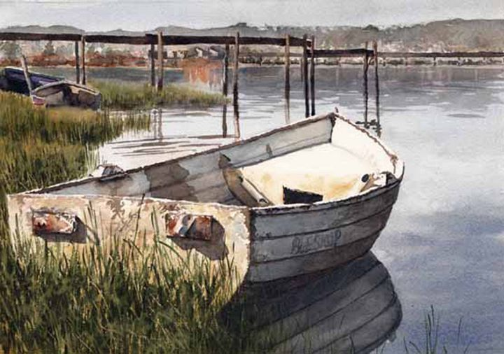 Floating in Knysna - Jonathan Davis