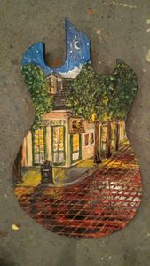 Cosimo's New Orleans LA hand-painted - Heartwood Designs