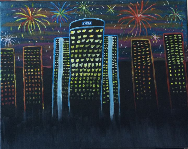 Fireworks in the D - Sheryl Gibson