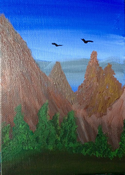 Mountain Views - Sheryl Gibson