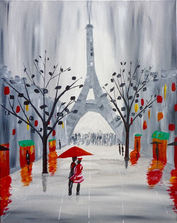 Parigi - Brian Sloan Paintings - Il Pennello d'Oro Art