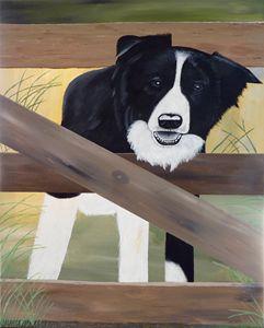 Il Sorriso - Brian Sloan Paintings - Il Pennello d'Oro Art