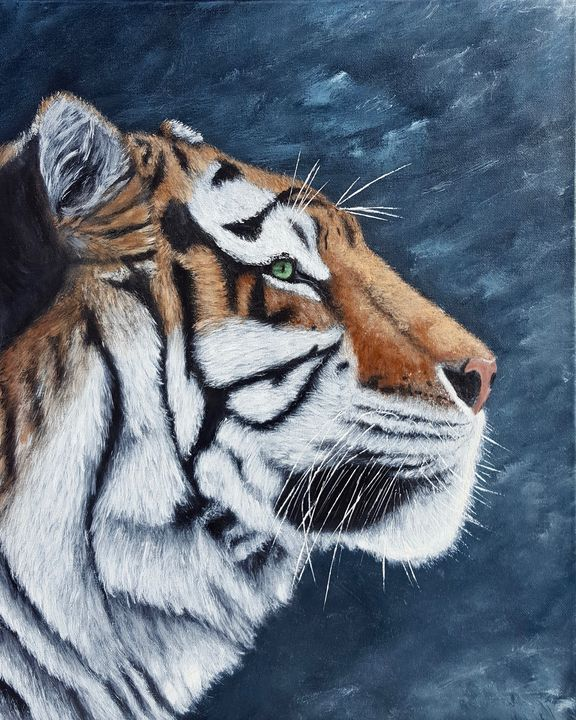 Siberian Tiger - Brian Sloan Artist