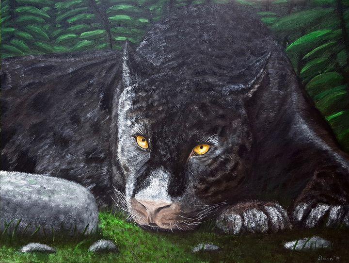 Black Panther - Brian Sloan Artist