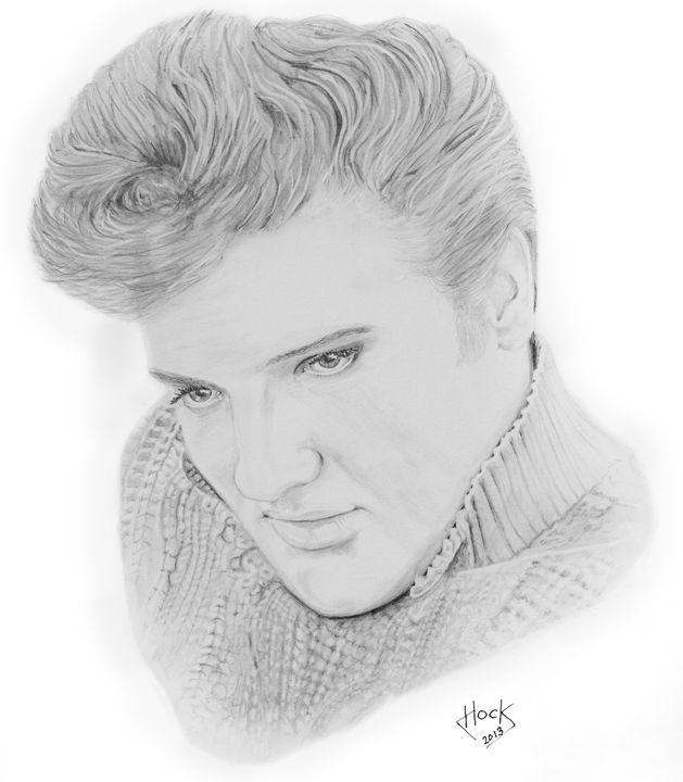 A Young Elvis - Paul Hock