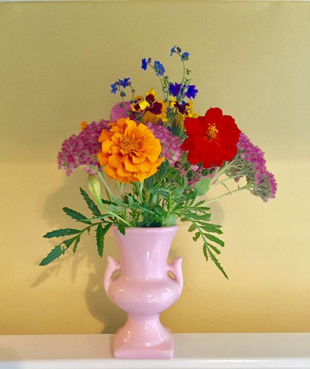 Flowers in Vase - Brogan Fine Art