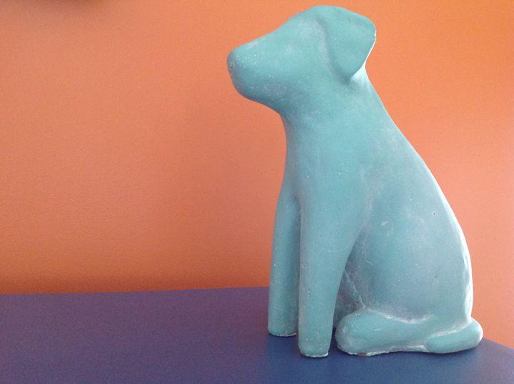 Dog statue - Brogan Fine Art