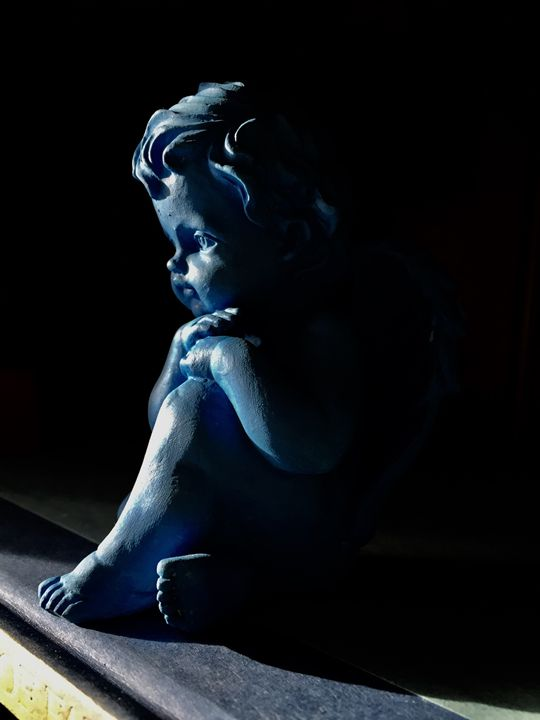 Angel Cherub - Brogan Fine Art