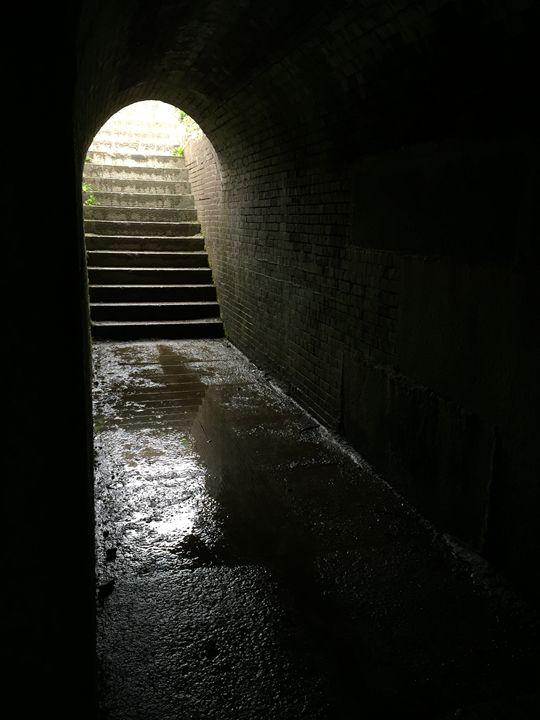 Dark Tunnel - Brogan Fine Art