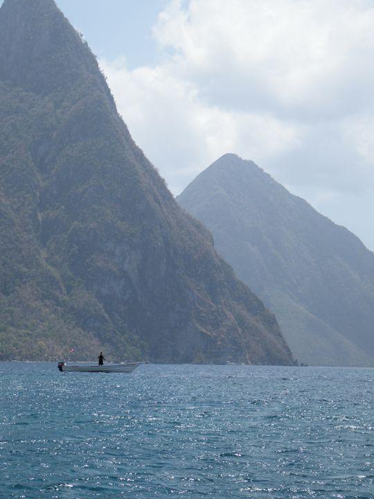 Caribbean Ocean View - Brogan Fine Art