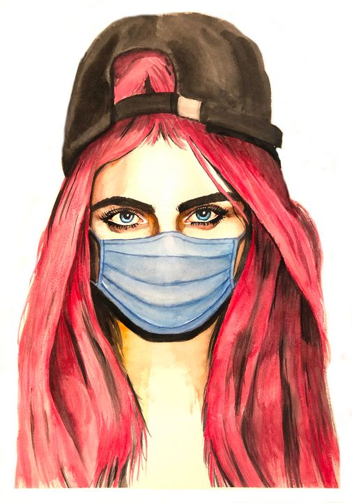 Cara Masked - Adam Clancy Art