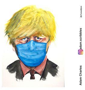 Boris masked
