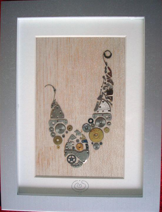 10 Jewels Peacock - Bluetermite