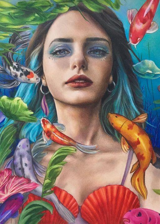 Underwater Girl - Vicky Xu