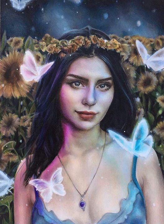 Glowing Butterflies - Vicky Xu