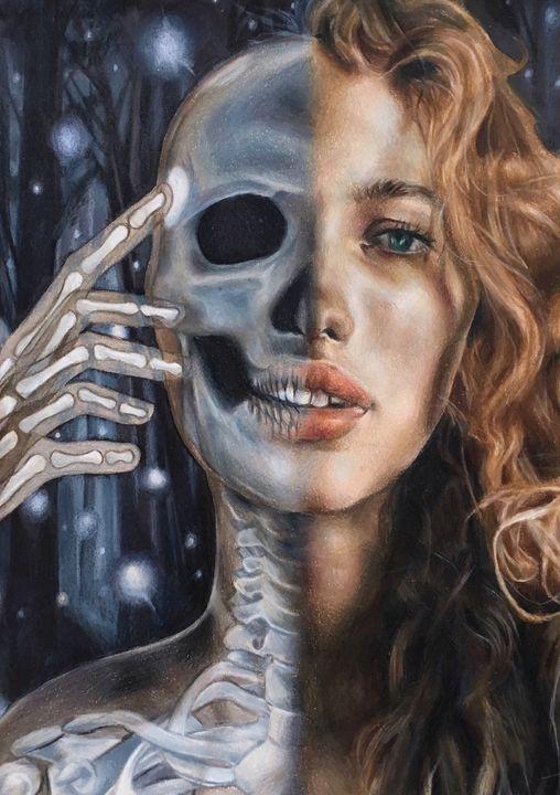 Skull Girl - Vicky Xu